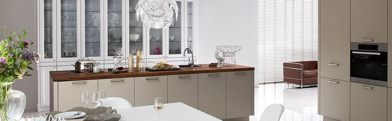 Grau Küche Landhausstil