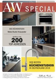 AW 2016 Küchenhändler des Jahres 2016