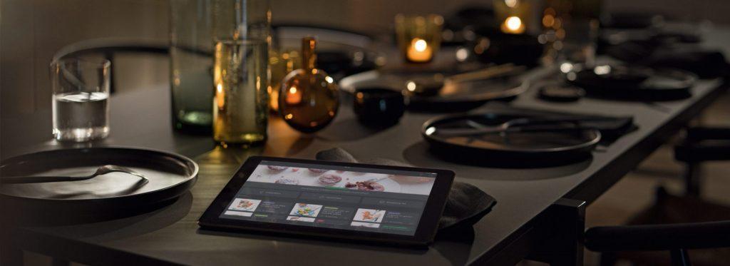 Miele Dialoggarer mit M Chef Technolgie, Smartphone und Tablett App
